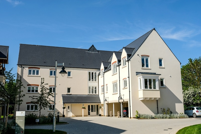 Cembrit takes care of roofing at new retirement village