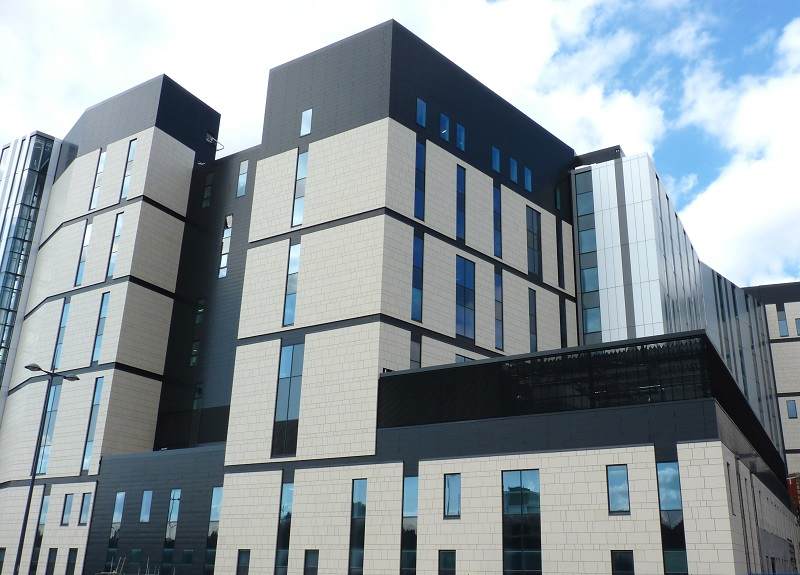Royal Liverpool Hospital gets the SureClad treatment
