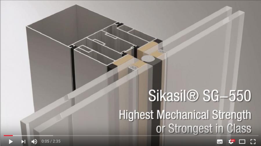 Sikasil® SG-550 Bomb Blast Test