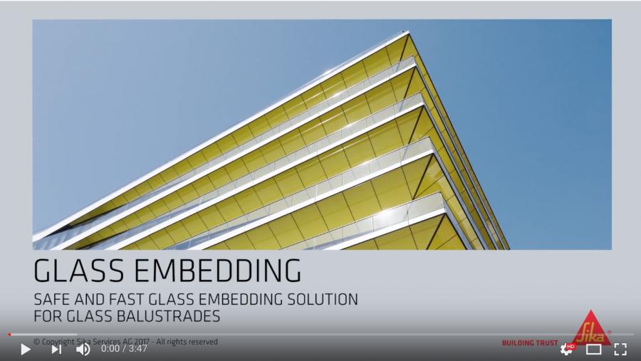 Facade & Fenestration Glass Embedding