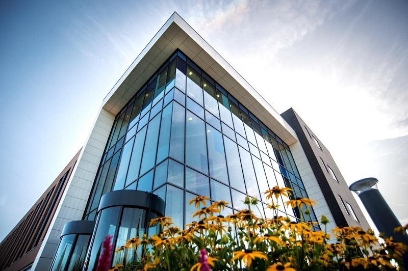 Shackerley provides feature entrance for Loughborough STEMLab