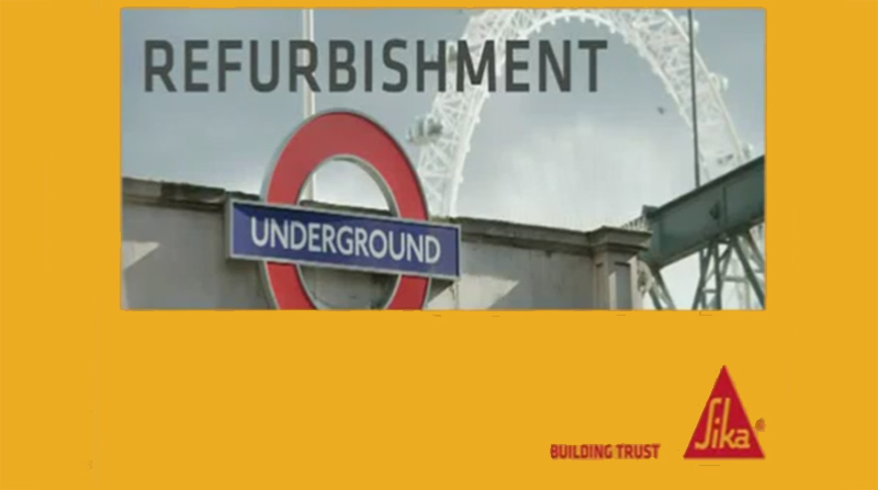 Sika Refurbishment of The London Underground