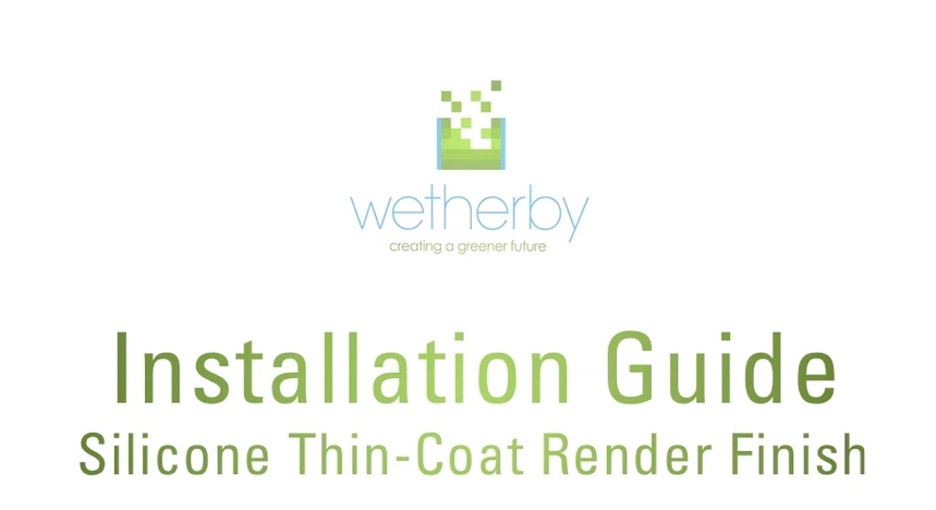 Installation Guide - Silicone Thin-Coat Render Finish