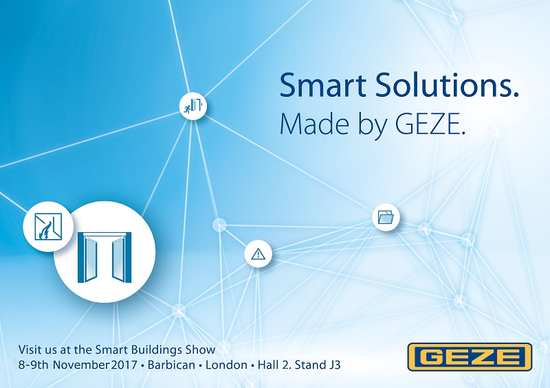 Wise-up to smart buildings with GEZE UK