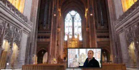 Stannah at Liverpool Cathedral