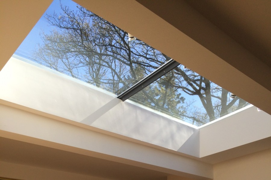 Learn how and why to specify flat glass rooflights