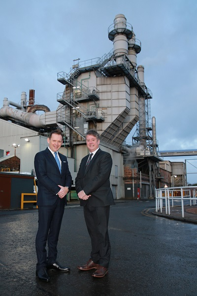 Stirling benefits from £37m investment in Scottish manufacturing facility