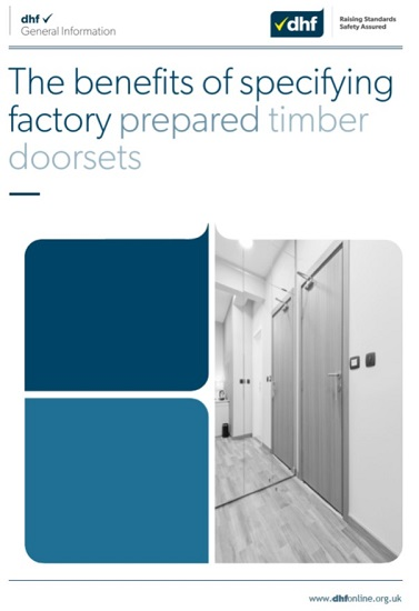 DHF produces comprehensive guide to benefits of complete Timber Doorsets