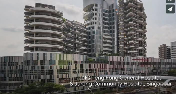 Gerflor Job Reference - Teng Fong Hospital Singapore