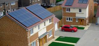 Window into zero carbon housing